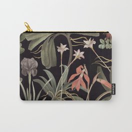Dark Botanical Stravaganza Carry-All Pouch
