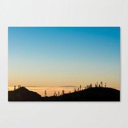 Samara Mountain Canvas Print