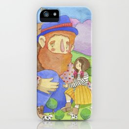Little giant iPhone Case