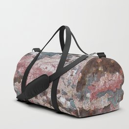 Cracking Paint and Rust Abstract Duffle Bag