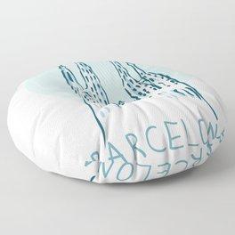 Barcelona 01 Floor Pillow