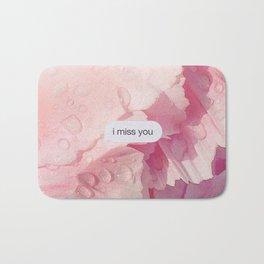 I miss you Bath Mat