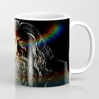 gandalf Mugs featuring Gandalf by D77 The DigArtisT