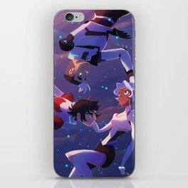 Spaced (trio) iPhone Skin