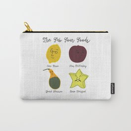The Fab Four Foods Carry-All Pouch