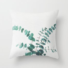 Eucalyptus II Throw Pillow