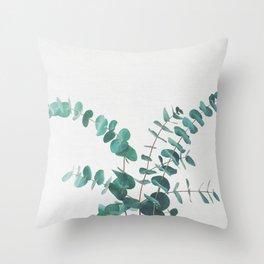 Eucalyptus II Throw Pillow