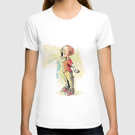 The Kid Who Ate Garlic T-shirt