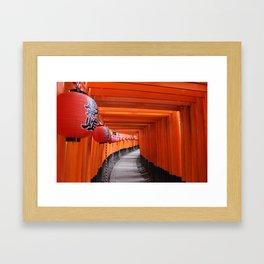 Fushimi Inari-taisha Shrine Framed Art Print