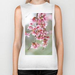 Cherry Blossom-7 Biker Tank