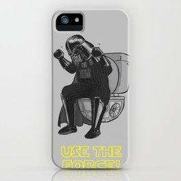 Use The Force! iPhone Case