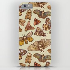 Moth Pattern iPhone 6s Plus Slim Case