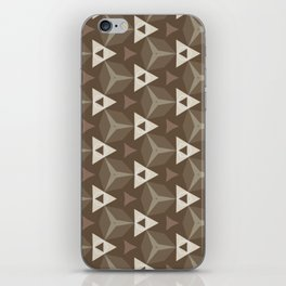 Upleft: digital abstract pattern iPhone Skin