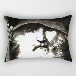 Scandinavian Mythology the Ancient God Odin Rectangular Pillow
