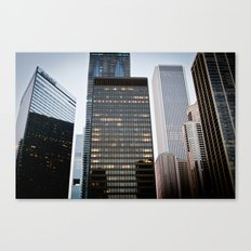 Day in Chicago Canvas Print