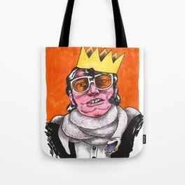 King Choker Tote Bag