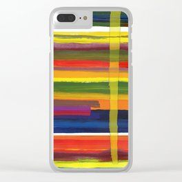 Landscape with Three Trees Clear iPhone Case