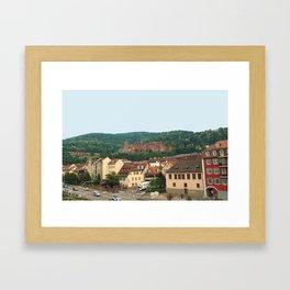 Heidelberg Castle Framed Art Print