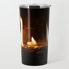 BY THE FIREPLACE Travel Mug