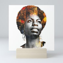 Nina Simone Mini Art Print
