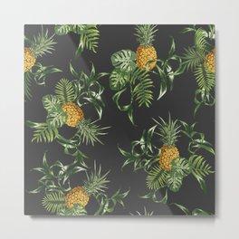 Pineapple repeat pattern. Metal Print