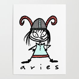 aries in the house(s)! Poster