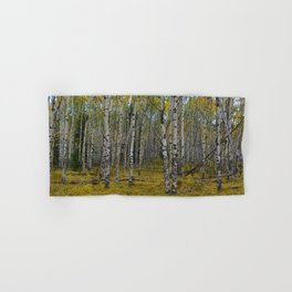 Trembling Aspen's in the Fall, Jasper National Park Hand & Bath Towel