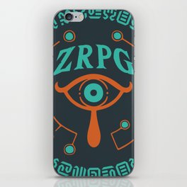 ZRPG.net Logo by Tab iPhone Skin
