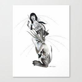 empathy monster Canvas Print