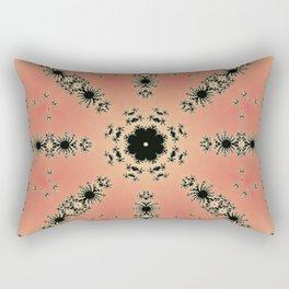 Fractal Dependence Pattern 1 Rectangular Pillow