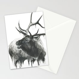 Bugle of an Elk Stationery Cards