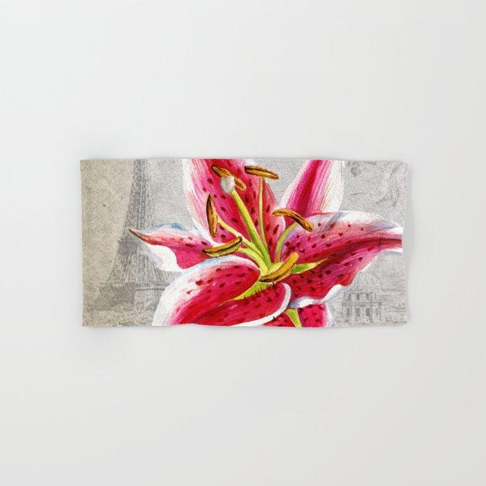 Macro Flower #2 Hand & Bath Towel