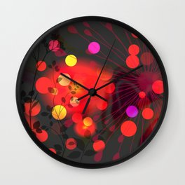 Efflorescence [2] Celebration Wall Clock