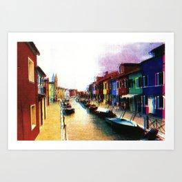 Murano Art Print