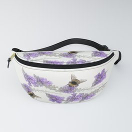Watercolor Bumble Bee Fanny Pack