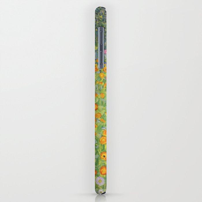 Flower Garden - Gustav Klimt iPhone Case