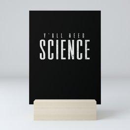 Science Chemistry Physics Teacher Scientist Mini Art Print