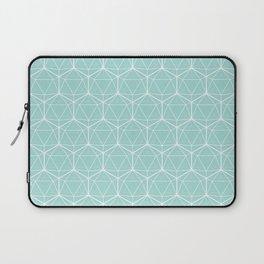 Icosahedron Seafoam Laptop Sleeve