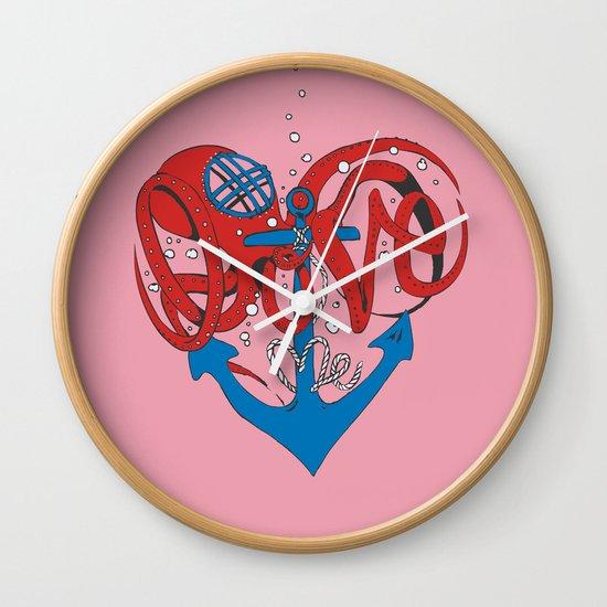 Deeply in Love Wall Clock
