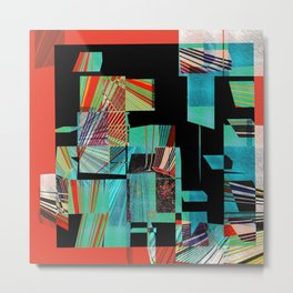 Segmented Changes in Time Metal Print