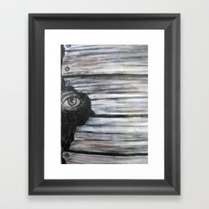 Looking Within Framed Art Print