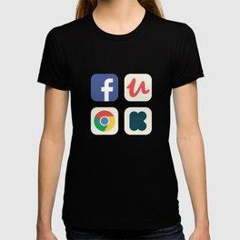 Favorite Apps Set 01 T-shirt