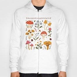 Mushrooms and Wildflowers Hoody