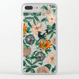 Forest Birds #nature #tropical Clear iPhone Case