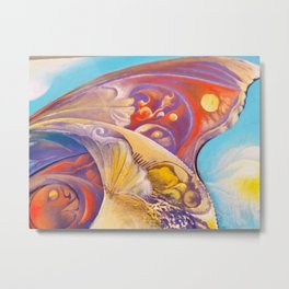 Winged color Metal Print