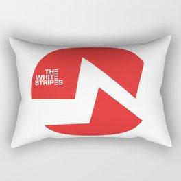 The White Stripes Rectangular Pillow