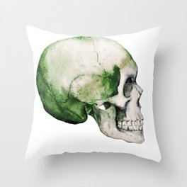 Skull 06 Throw Pillow