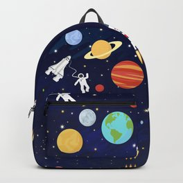 In space Backpack