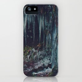Ice Spikes iPhone Case