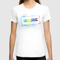 grafitti T-shirts featuring Dedsec Graf Stencil by D-fens